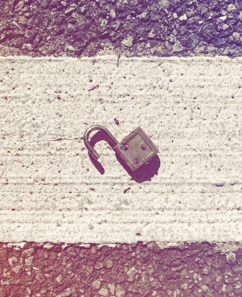 simbologia del lucchetto e della serratura